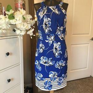 Dresses & Skirts - CB established 1962 Blue floral dress sz 4